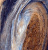 PIA00018: Color View of Jupiter's Great Red Spot