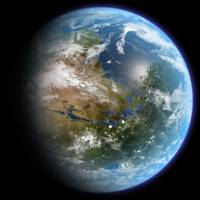 Terraformed Mars - Artists Conception