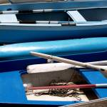 """Blue Boats"" by olimoorman"