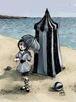 Gothic Beach Beauty