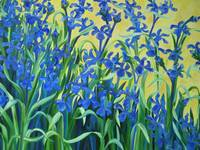 Tangle of Irises II