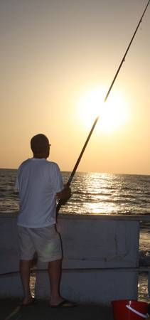 Fishing the sun