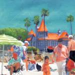 """First Day at the Beach in Coronado by Riccoboni"" by RDRiccoboni"
