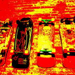 """Skate Boards  (3)"" by Funkpix"