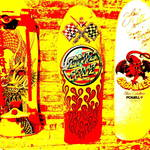 """Skate Boards  (5)"" by Funkpix"