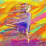 """Ballerina in Ribbons"" by cynthia"