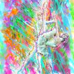 """Pas De Deux Contemporary"" by cynthia"
