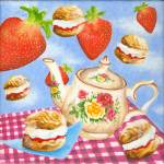 """Cream tea"" by victoriasponge"