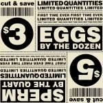 """Egg & Sperm Coupon"" by sherri"