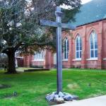 """""""Cross at St Francis Xavier Cathedral"""" by iThinkMedia"""