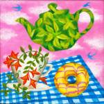"""""""Tea and a biscuit still life"""" by victoriasponge"""