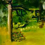 """Face of the Green-Man"" by pernelle"