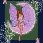 """Breast Cancer Fairy"" by GloryT"