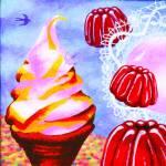 """Ice cream and jelly"" by victoriasponge"