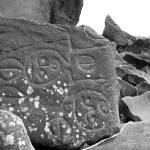 """Petroglyphs, Wedding Rocks, Cape Alava"" by bittermonk"