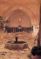 Courtyard of a Mosque at Broussa