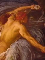 Hercules Wrestling Death for the Body of Alcestis