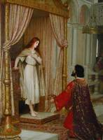 King Copetua and Beggar Maid by Edmund Leighton