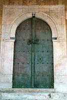 Old Chained Door