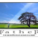 """father - word for god"" by 2-mello"