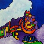 """""""Abstract Train"""" by piliero"""