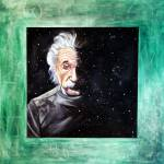"""Einstein: Across the Universe"" by Tejaartist"