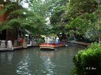 Boat On The San Antonio River