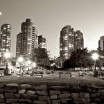 """Vancouver Cityscape By Night"" by timbarton"