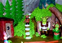 Shrek's world in marzipan
