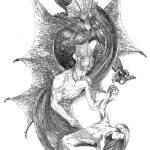 """dragonslayer"" by Nivuesbrush"