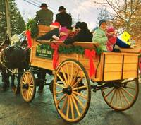 Woodstock Vermont Wassail Wagon Pull