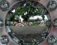 Wheel Cover Reflections