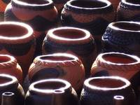 African Halo Pots