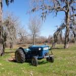 """""""Blue Tractor Catahoula, Lousiana"""" by iThinkMedia"""