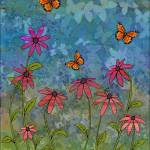 """butterfly garden"" by sarahkdesigns"