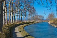 Canal du Midi in early winter
