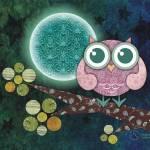 """Midnight Owl"" by sandygrafik_arts"