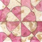 """Hearts and Gizzards Quilt Block"" by freereinart"