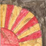 """Victorian Fan Quilt Block"" by freereinart"