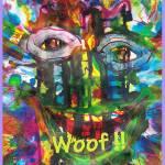 """Fun Rainbow Dog"" by EdKaitz"