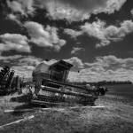 """Farm Monochrome 3.31.2009"" by notleyhawkins"