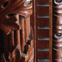 Carved Wood by Patricia Schnepf