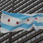 """Flag of Chicago"" by christophertaylorphotography"