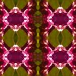 """Magenta Crystals Pattern 2"" by AmyVangsgard"