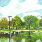 """Jackson Park Lagoon"" by anthony"