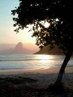 Sunset over Niteroi
