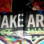 """graffiti make art not war"" by mypinksoapbox"