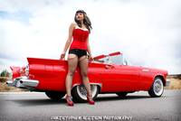 Pinup Model: Erika - The Texas Timebomb