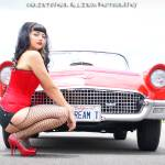 """""""Pinup Model: Erika - The Texas Timebomb"""" by rockabillyboy72"""