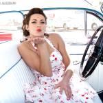 """Good Guys Del Mar Nationals - Sunday - Stefanina"" by rockabillyboy72"
